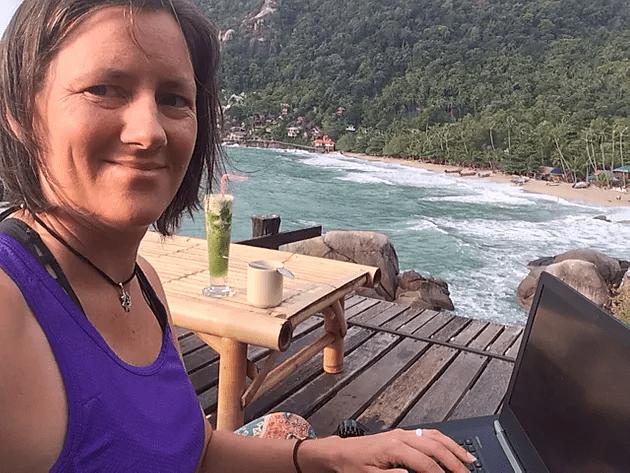 Writing Joyful Eating in Koh Phangan
