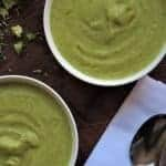 Curried Vegan Cream of Broccoli Soup