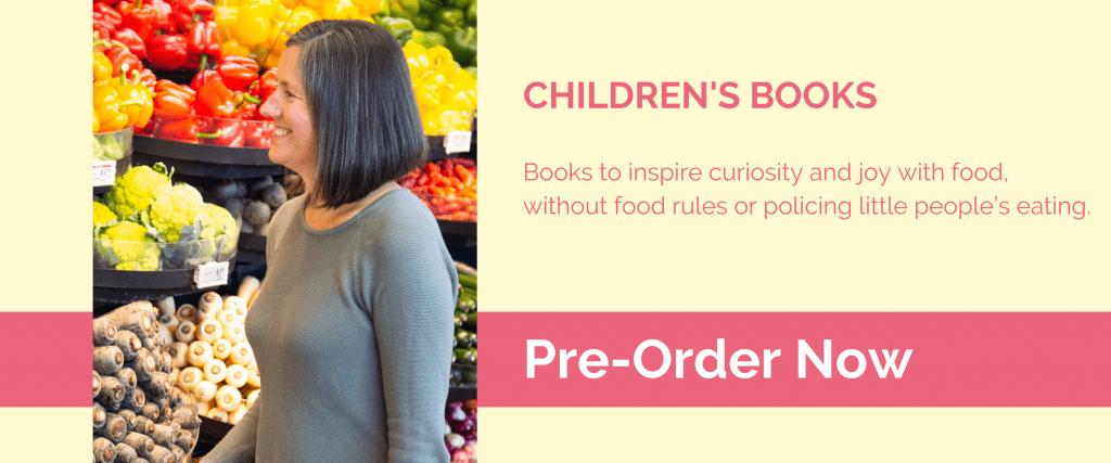Joyful Eating Childrens Books Banner