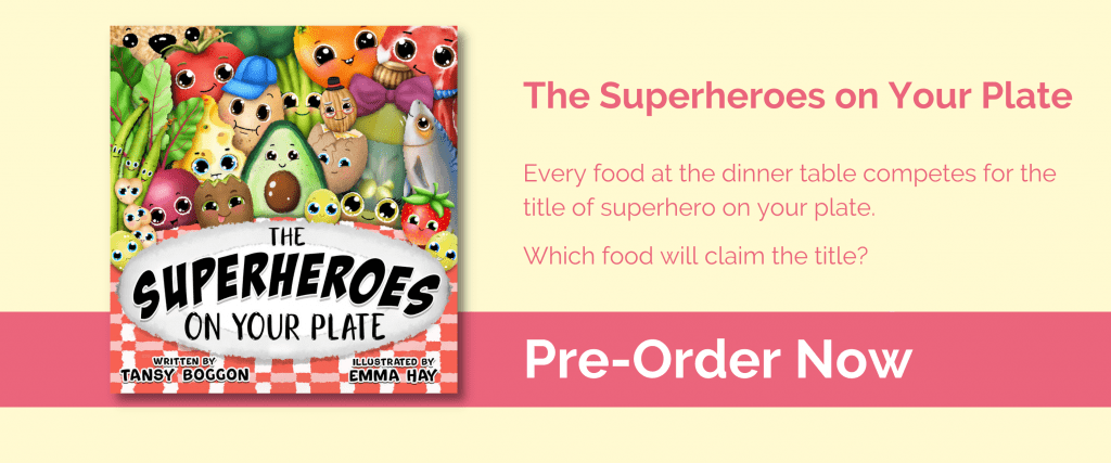 Pre-Order The Superheroes on Your Plate Banner